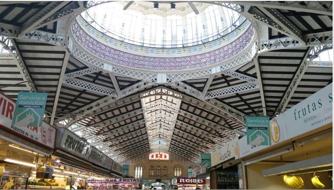 Cúpula del Mercat Central de València