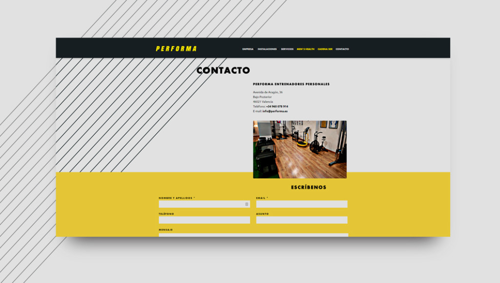 Restyling Web Performa